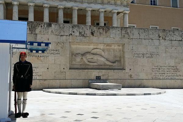 アテネ シンタグマ広場