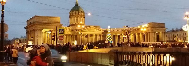 ロシア自由旅行④ サンクトペテルブルグでの年越し