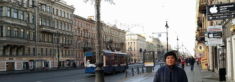 ロシア自由旅行⑤ サンクトペテルブルグ 元旦