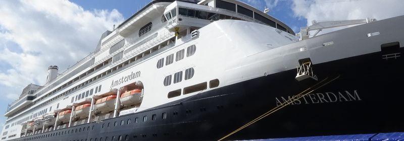 HAL アムステルダム 世界一周クルーズ 大阪港寄港