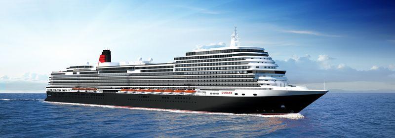 キュナード・ライン 4隻目となる新船を建造