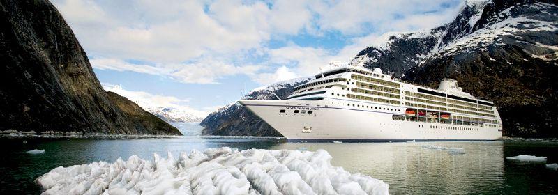 最高級船 リージェント・セブンシーズ・クルーズ</br>アラスカ 割引キャンペーン